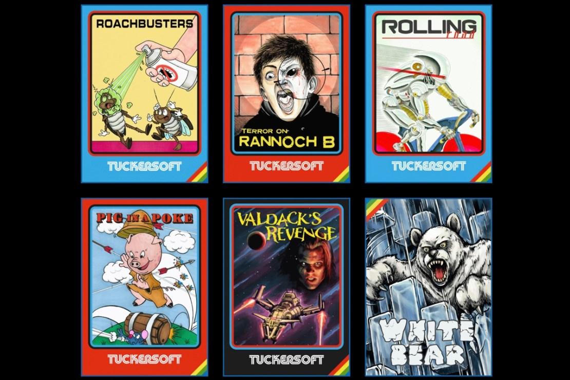 Okładki pozostałych tytułów gier od Tuckersoftu