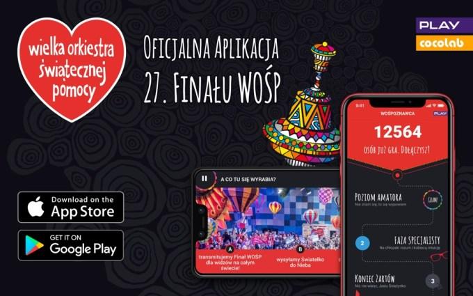 Oficjalna aplikacja mobilna 27. WOŚP