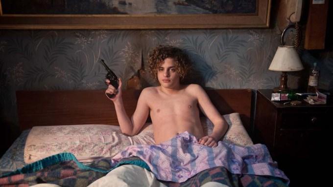 Lorenzo Ferro jako Anioł