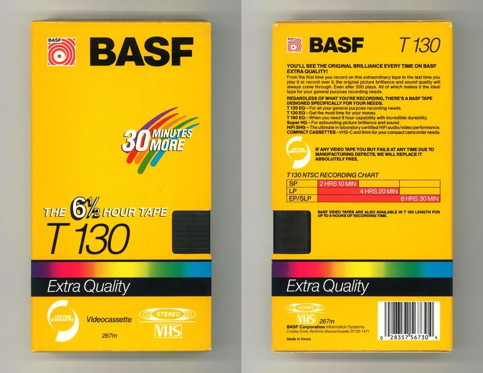 BASF Videocassette T-130