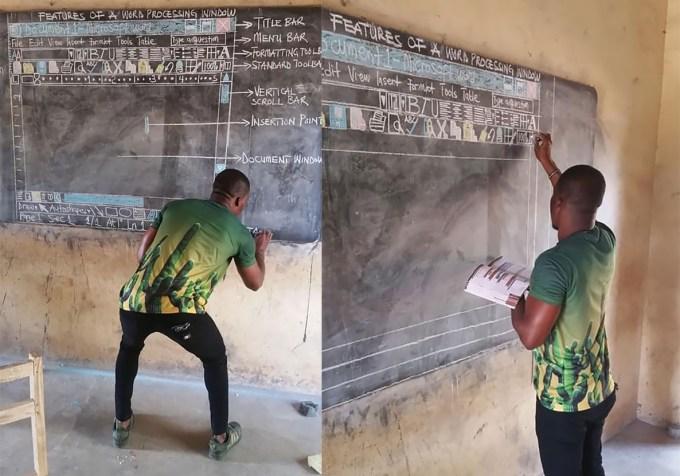 Nauczyciel informatyki Richard Appiah Akoto (Ghana)