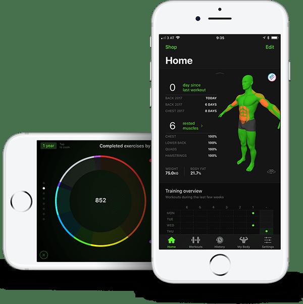 Gymaholic app