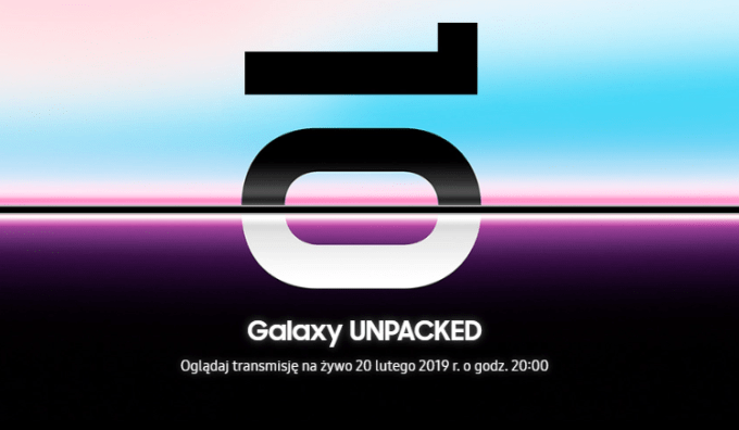 Samsung Galaxy S10 Unpacked 2019