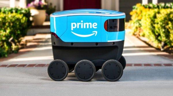 """Amazon testuje robota dostawczego o nazwie """"Scout"""""""