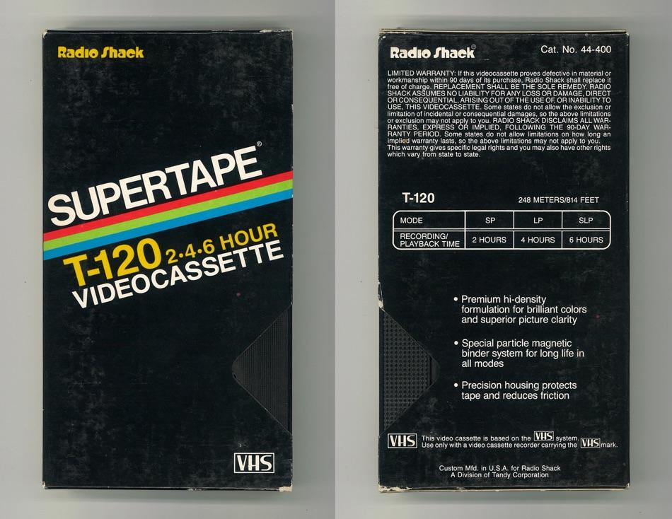Supertape VHS T-120