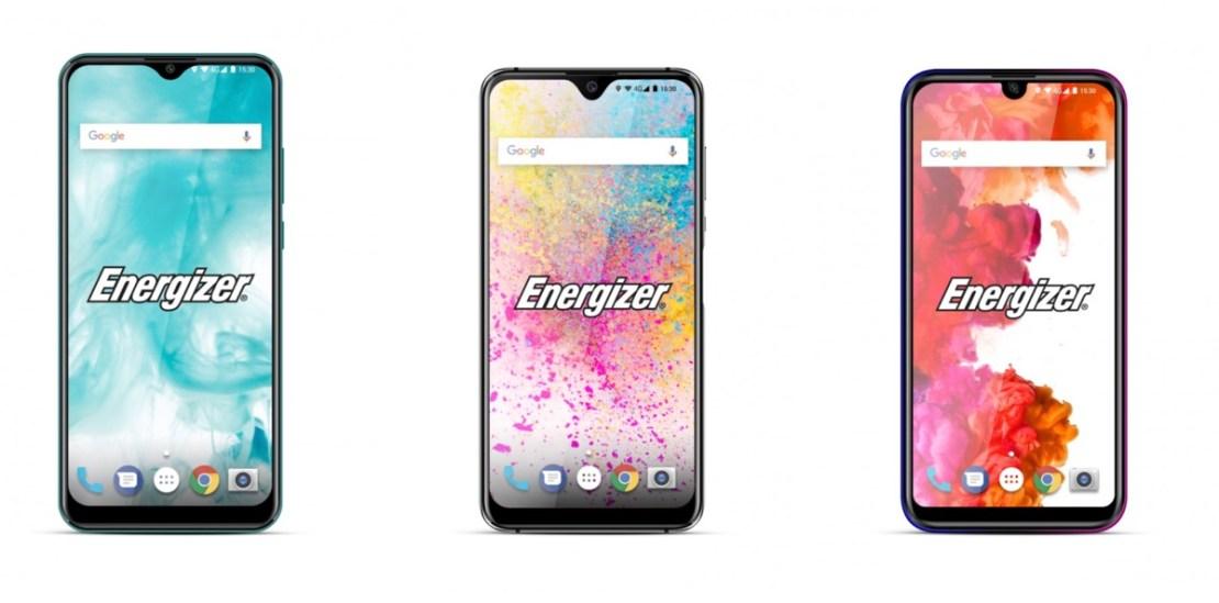 Energizer (od lewej): U650S, U620S, U570S