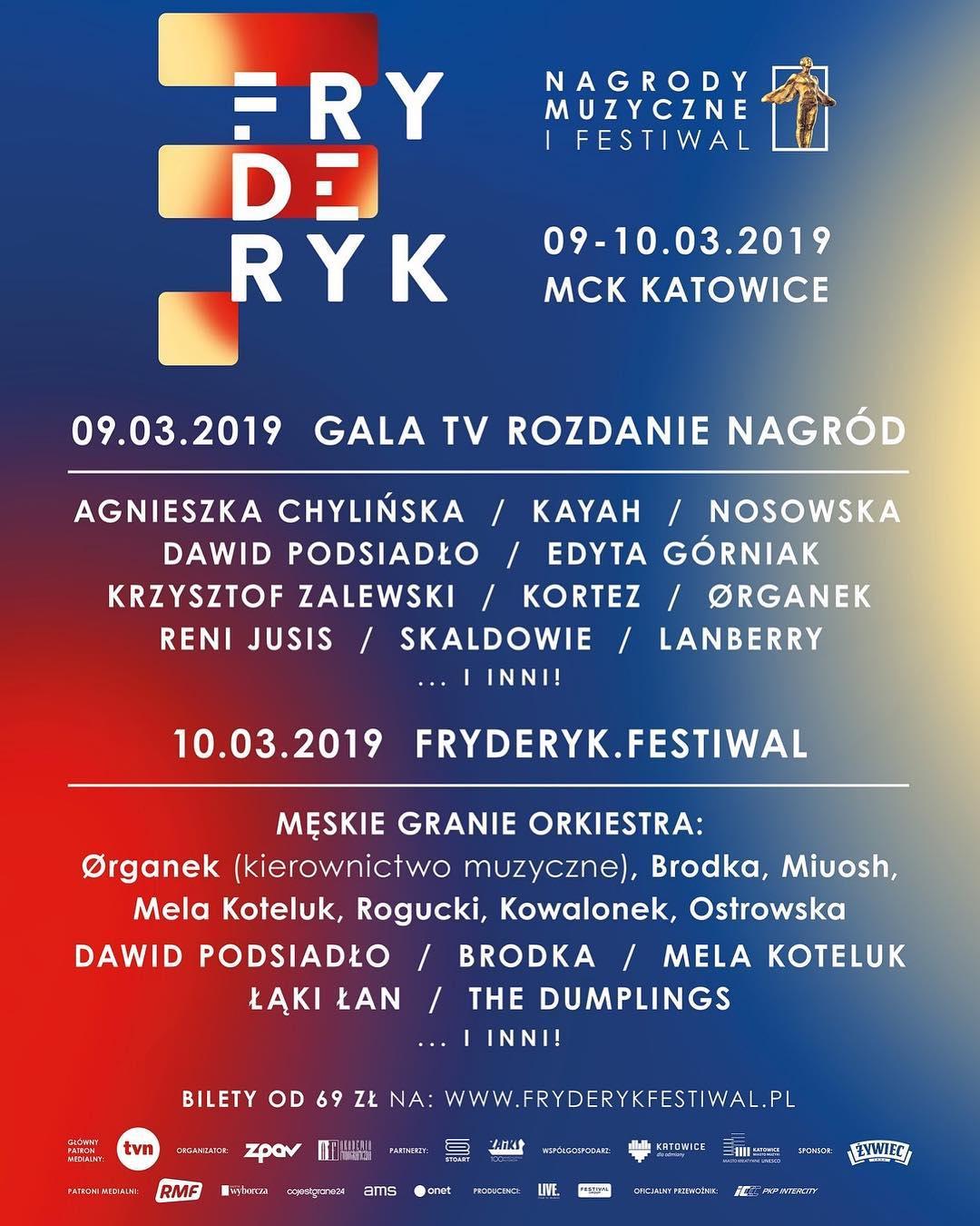 Plakat Fryderyk 2019
