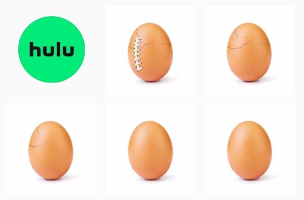 Jajko na Instagramie nie pękło, ale wykorzystało je hulu…