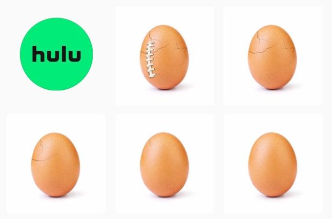 Hulu i world_record_egg na Instagramie