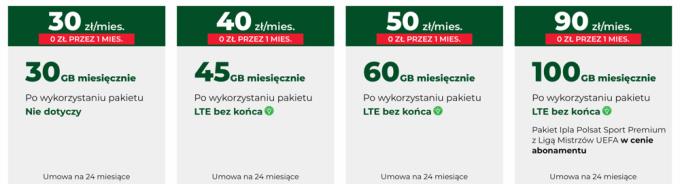 Internet mobilny z routerem w Plusie (luty 2019)