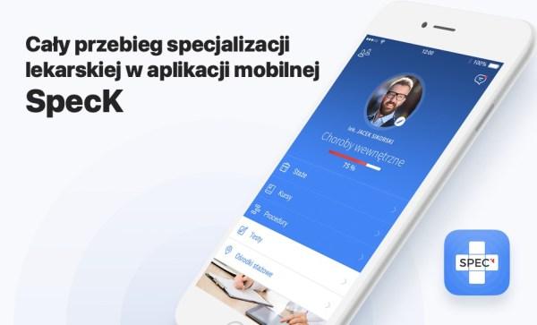 SpecK to polska aplikacja dla specjalizujących się lekarzy