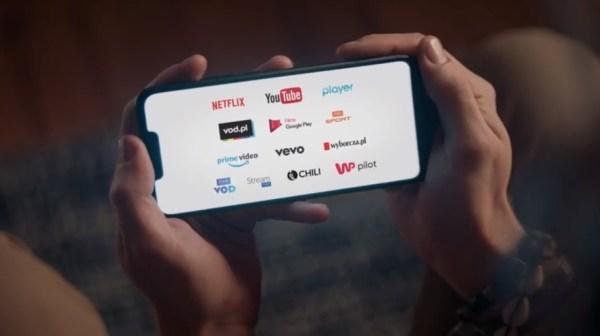 """Kampania T‑Mobile na kartę z usługą  """"Video bez limitu danych"""""""