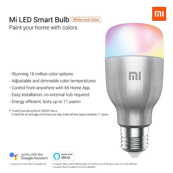 Żarówka Mi LED Smart Bulb (podsumowanie)