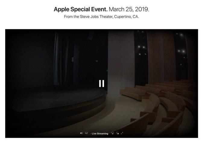 Zrzut ekranu z oficjalnej strony Apple'a
