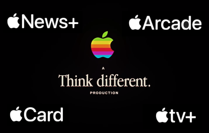 Nowe usługi Apple TV+, Apple Arcade, Apple Card, Apple News+