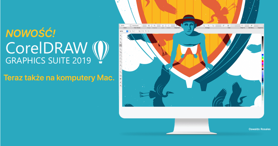 CorelDraw na komputery Mac (macOS)