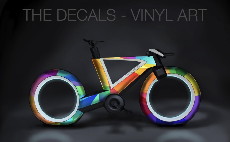 Cyclotron Bike