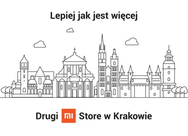 Xiaomi otwiera drugi Mi Store w Krakowie