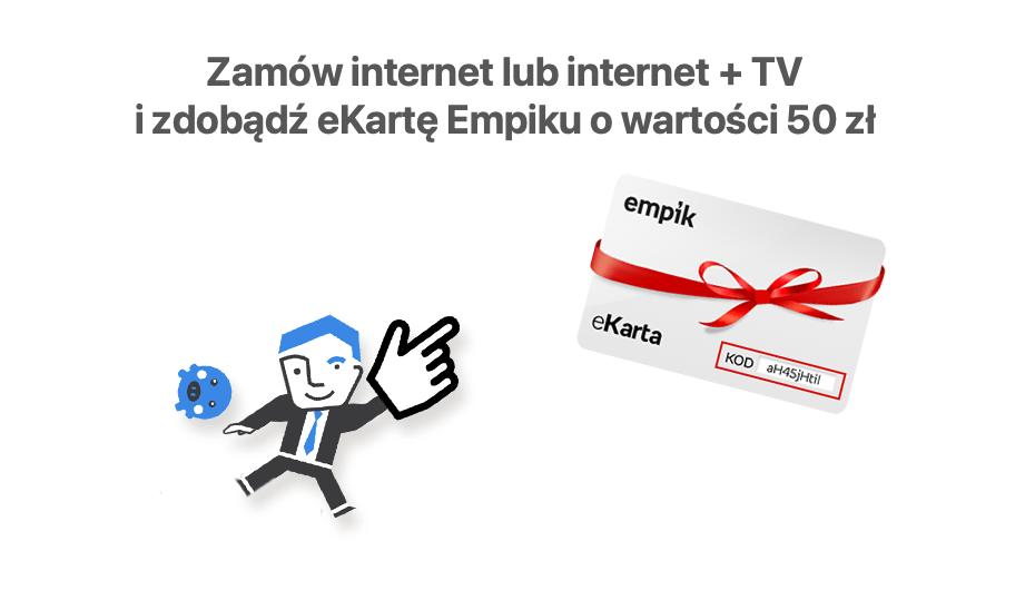 eKarta o wartości 50 zł do Empiku (PanWybierak.pl)