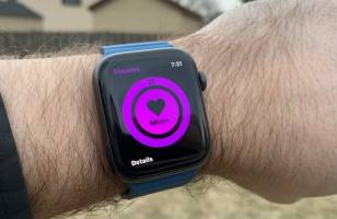 watchOS 6 - koncepcja funkcji zdrowotnych