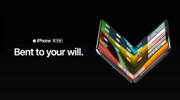 Koncept składanego iPhone'a X Fold na podstawie pogłosek i pragnień…