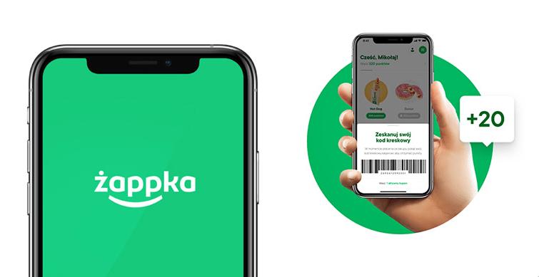 Aplikacja mobilna Żappka