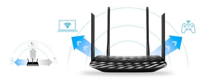 Połączenie routera z dwoma urządzeniami równocześnie