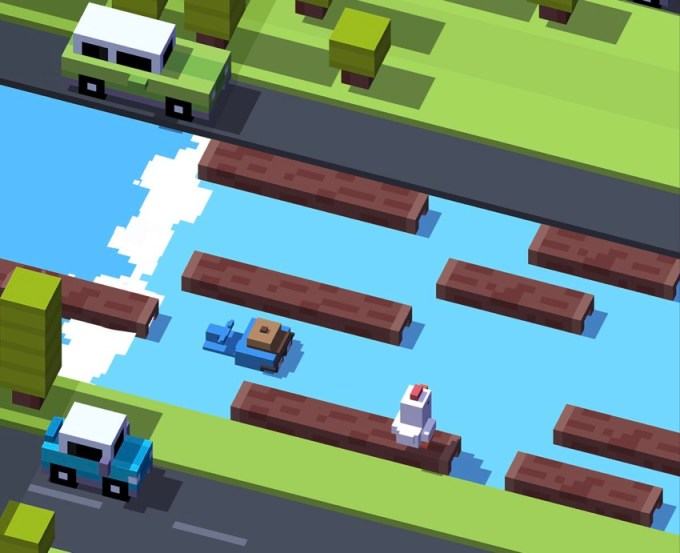 Crossy Road (easter egg)