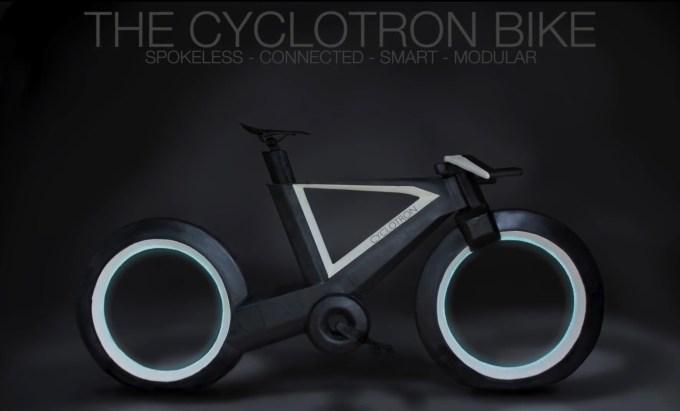 Rower Cyclotron (model czarny)