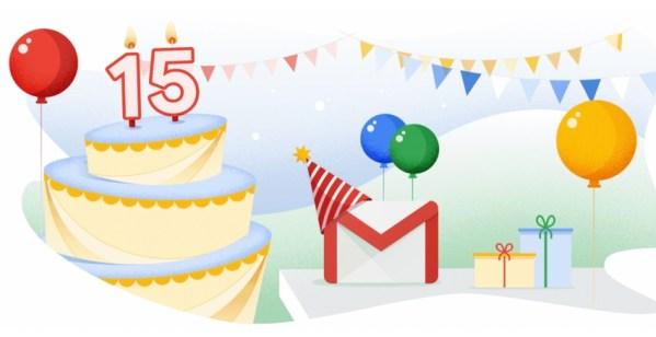 Gmail świętuje 15-lecie i otrzymuje nową funkcję