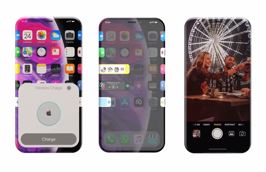 iPhone XII - koncepcja od Kevina Noki