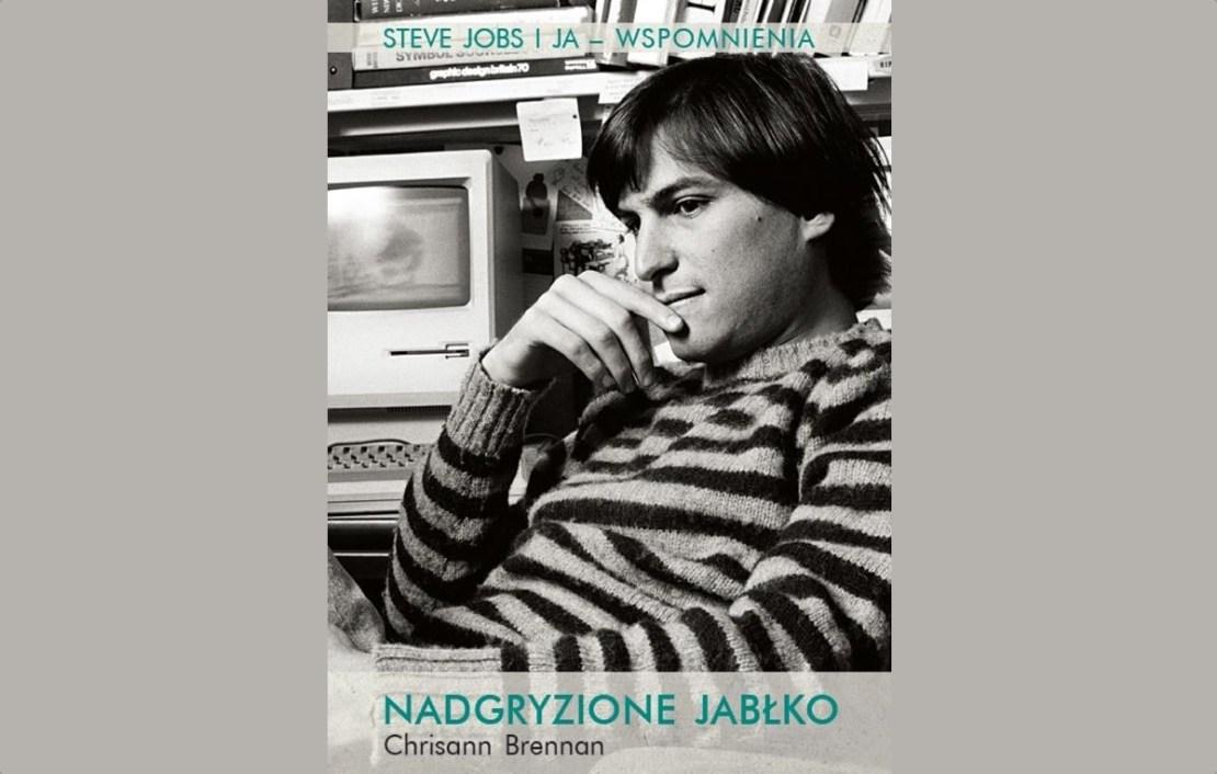 """Okładka książki: """"Nadgryzione Jabłko. Steve Jobs i ja. Wspomnienia"""""""