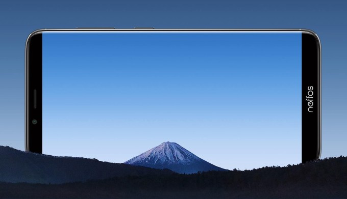 Wyświetlacz smartfona Neffos X9 od TP-Link