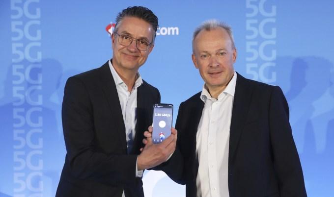 OPPO i Swisscom wprowadzają 5G