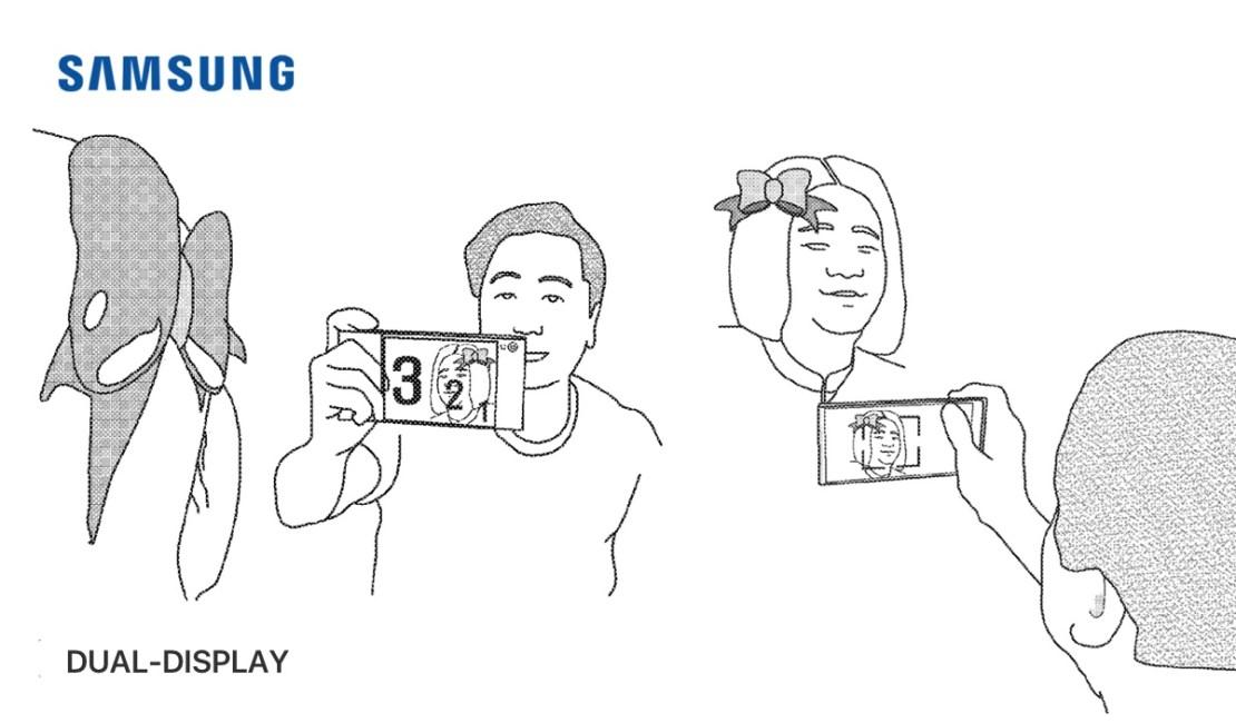 Patent Samsunga na dwustronny wyświetlacz (do robienia zdjęć)