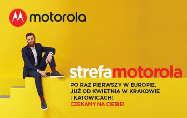 Pierwsze w Europie Strefy Motorola zostaną otwarte w Polsce!