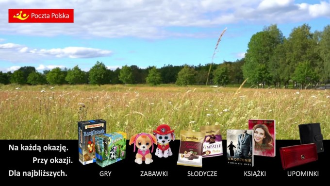 Spot reklamowy Wiosna 2019 - Poczta Polska