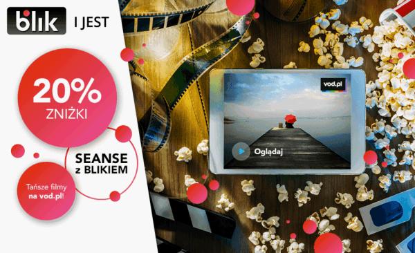 Promocja z Blikiem zobaczysz więcej – 20% zniżki na filmy VOD