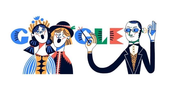 Google Doodle – Stanisław Moniuszko 200. rocznica urodzin