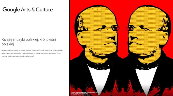 Wystawa na Google Arts & Culture: Viva Moniuszko