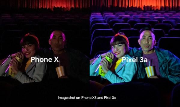 """Google Pixel 3a w reklamie porównuje się do """"Phone'a X"""""""