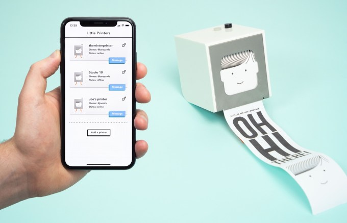 Drukarka Little Printer