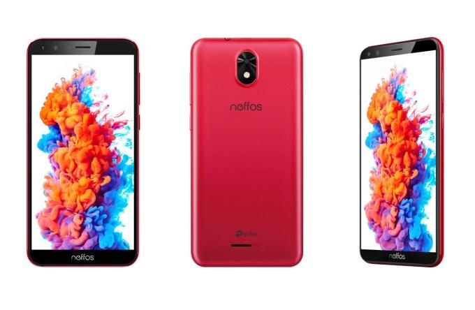 Neffos C5 Plus (czerwony)