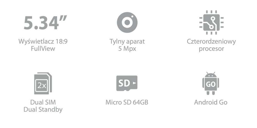 Specyfikacja smartfona Neffos C5 Plus