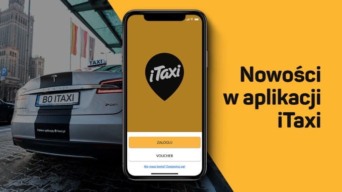 Nowości w aplikacji iTaxi (maj 2019)