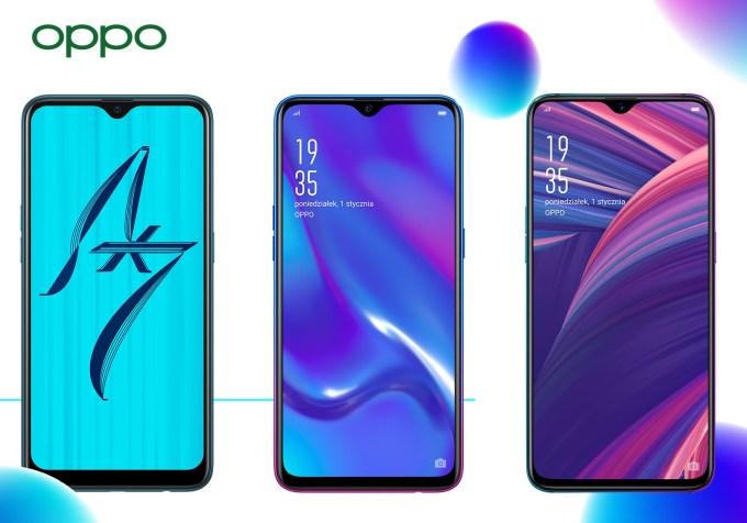 Smartfony OPPO z okazji Jaff 2019