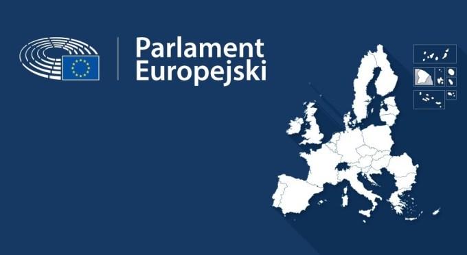 Parlament europejski - mapa (Eurowybory 2019)