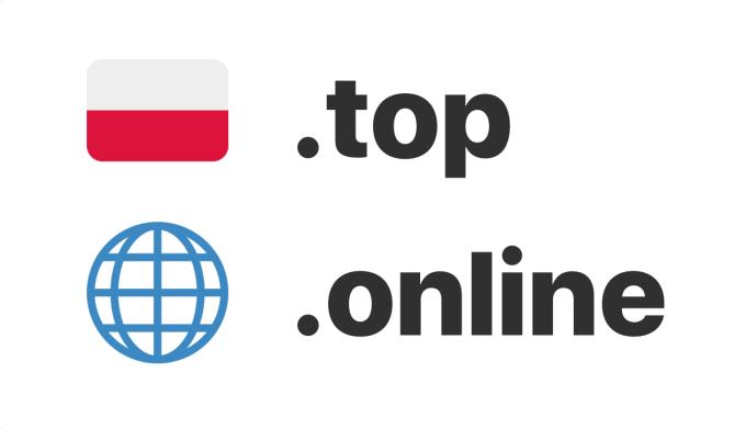 Najpopularniejsze nietypowe rozszerzenia domen: Polska i świat