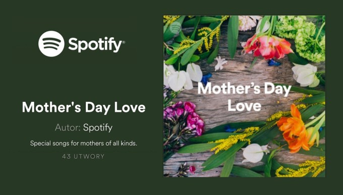 Spotify Mother's Day Love 2019 Playlists