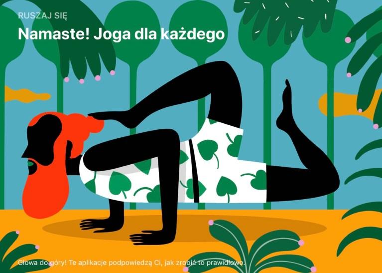 Aplikacje mobilne pomagające ćwiczyć jogę